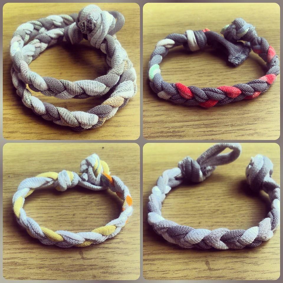 Famoso Riciclo creativo_bracciali-trecce di stoffa, un'ossessione  UM13